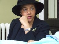 Wanda Spence as Aunt Ellen in Olivia Drake's A Place In Time