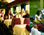 Wanda Spence appears in AMTRAK'S Family Reunion Advertisement