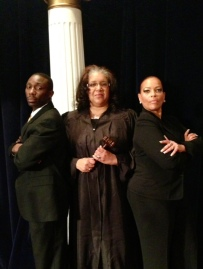 Wanda Spence (Center) & Cast of A Change Is Gonna Come